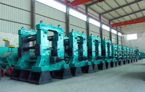 TMT rebar mini three roll mill machine